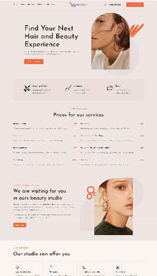 Create your online beauty store with storecook