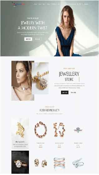 Create your online jewellry store with store with storecook